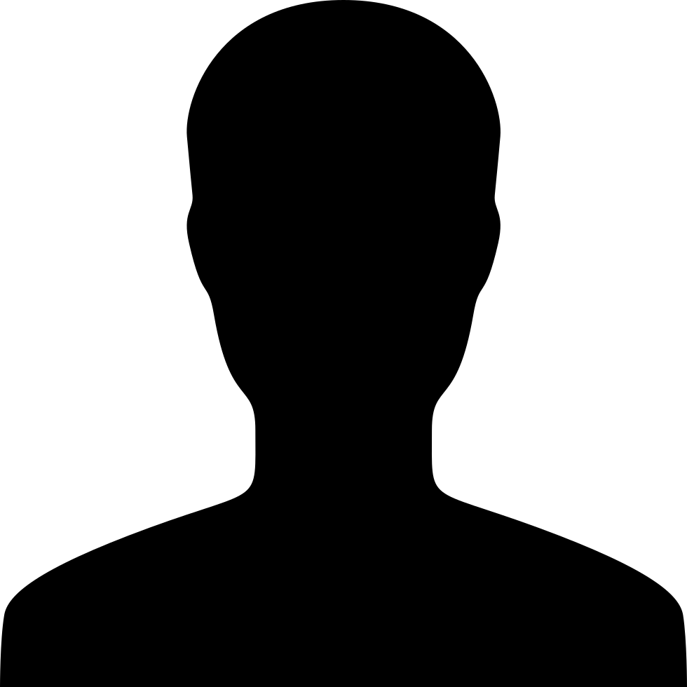 person icon silhouette png 0
